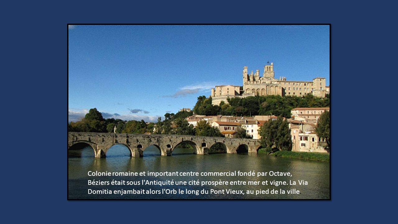 Entre le Gard et l'Hérault, la Via Domitia empruntait le Pont d Ambroix pour franchir le Vidourle. Pont romain construit au Ier siècle, il fait partie