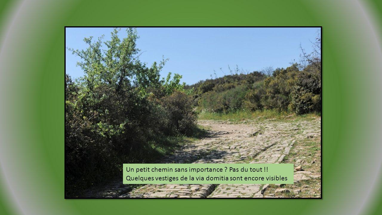 Entre le Gard et l Hérault, la Via Domitia empruntait le Pont d Ambroix pour franchir le Vidourle.