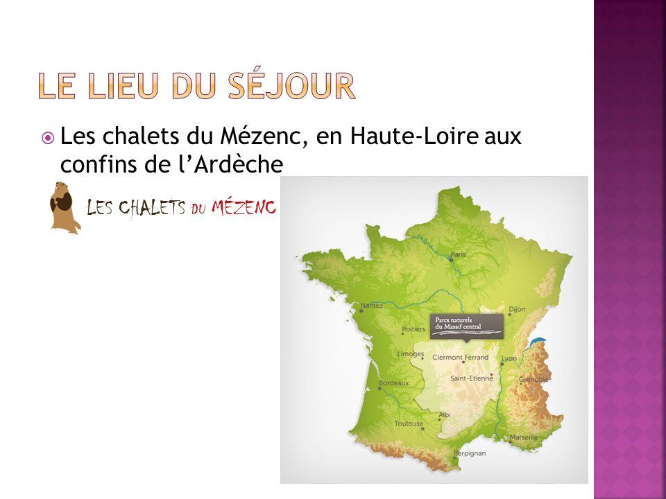 Les chalets du Mézenc, en Haute-Loire aux confins de lArdèche