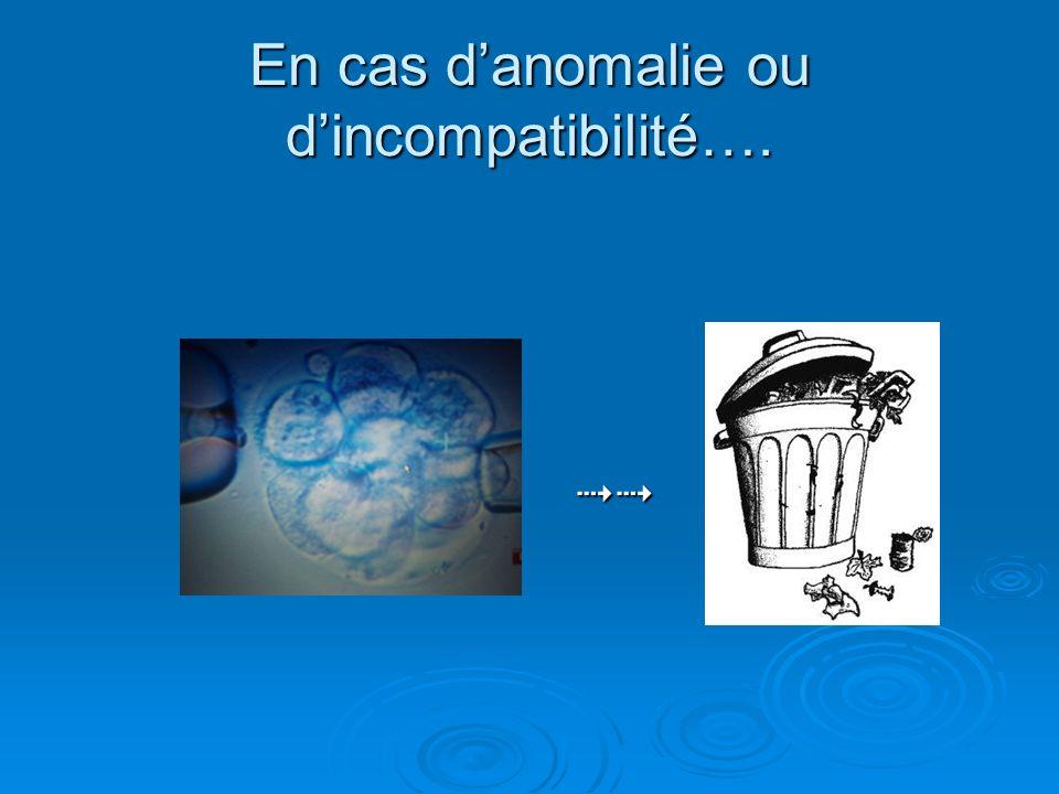 En cas danomalie ou dincompatibilité….