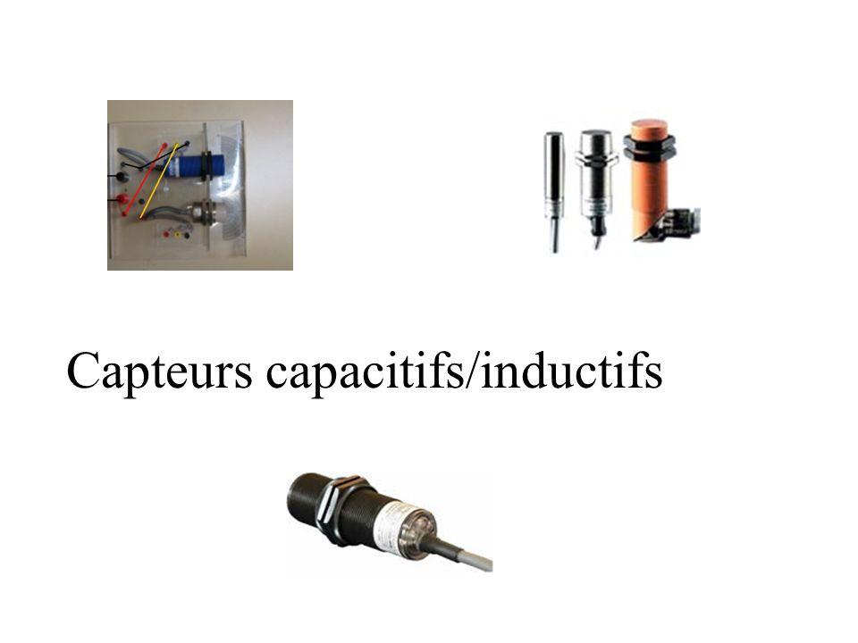 Capteurs capacitifs/inductifs