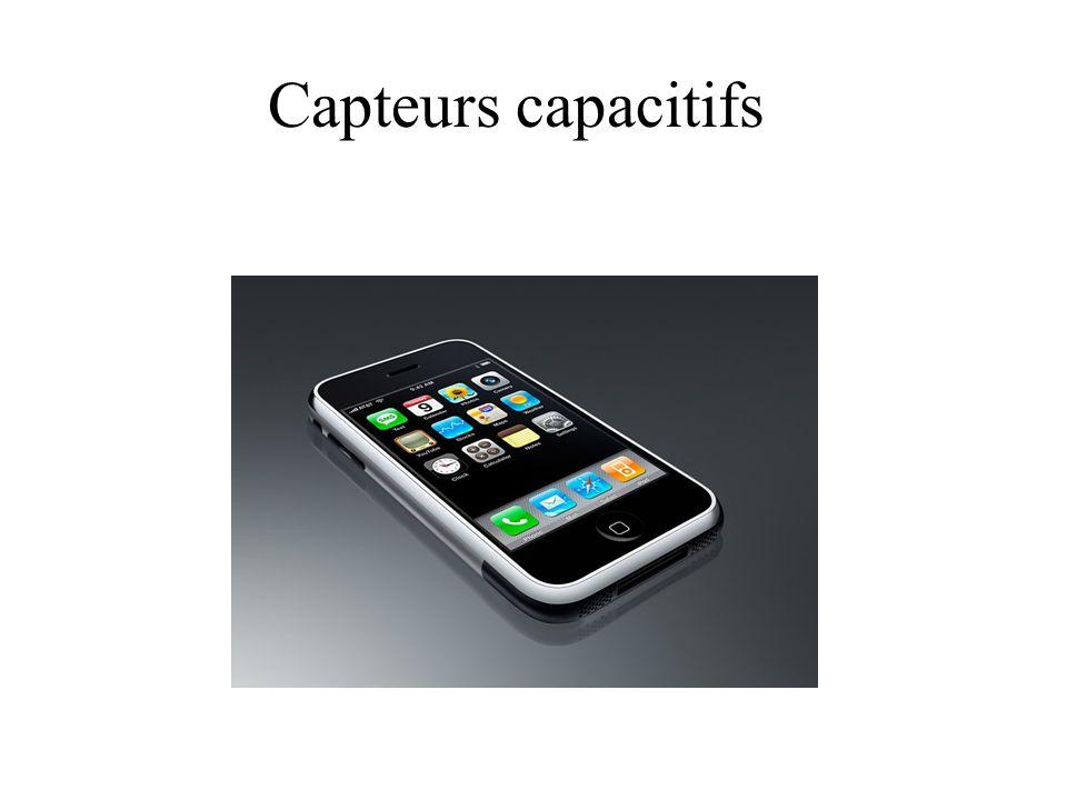 Capteurs capacitifs