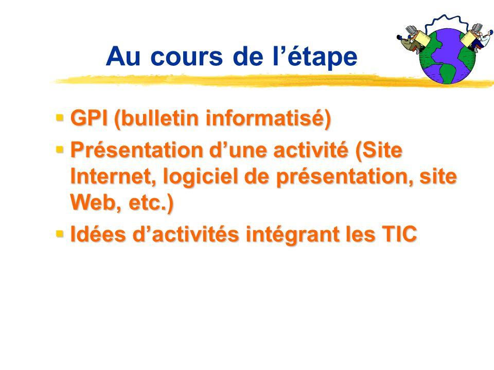 Planification de lenseignement Plan de cours (traitement de texte) Plan de cours (traitement de texte) Recherche dinformation (moteurs de recherche, I