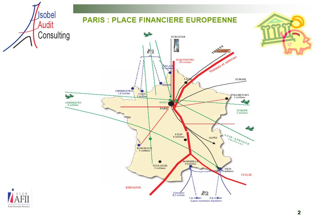 2 PARIS : PLACE FINANCIERE EUROPEENNE