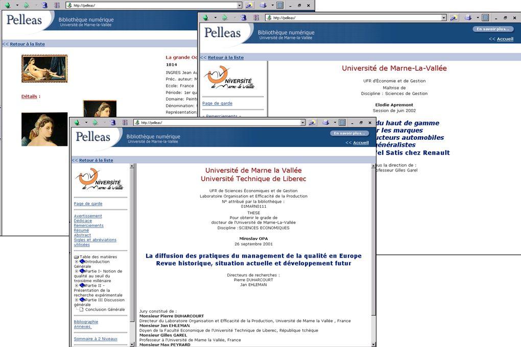 L intégration dans Pelleas Un apport théorique: le fichier PEL – Enveloppe structurelle de l ensemble des constituants du document.