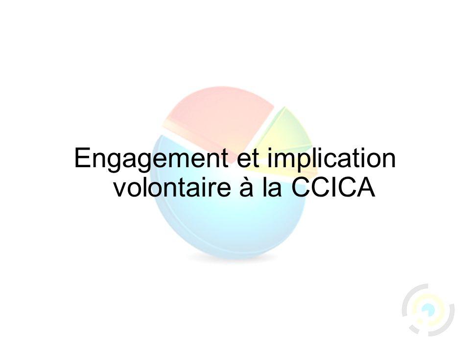 53 Engagement et implication volontaire à la CCICA