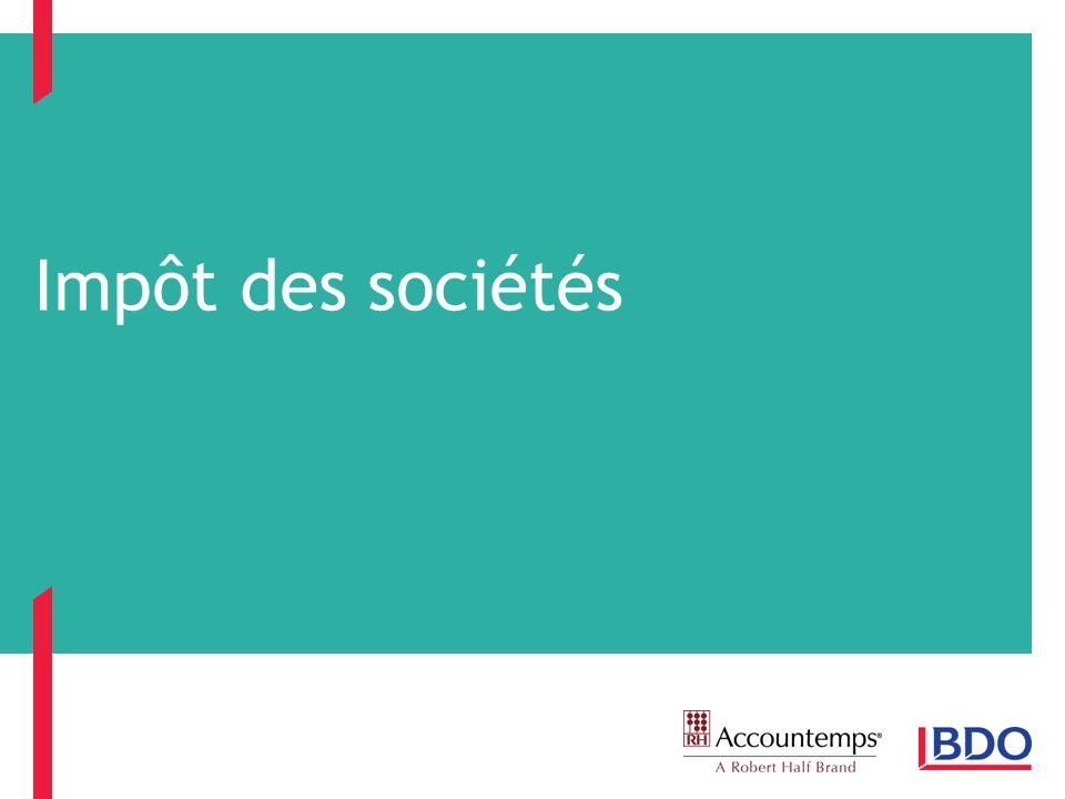 Impôt des sociétés