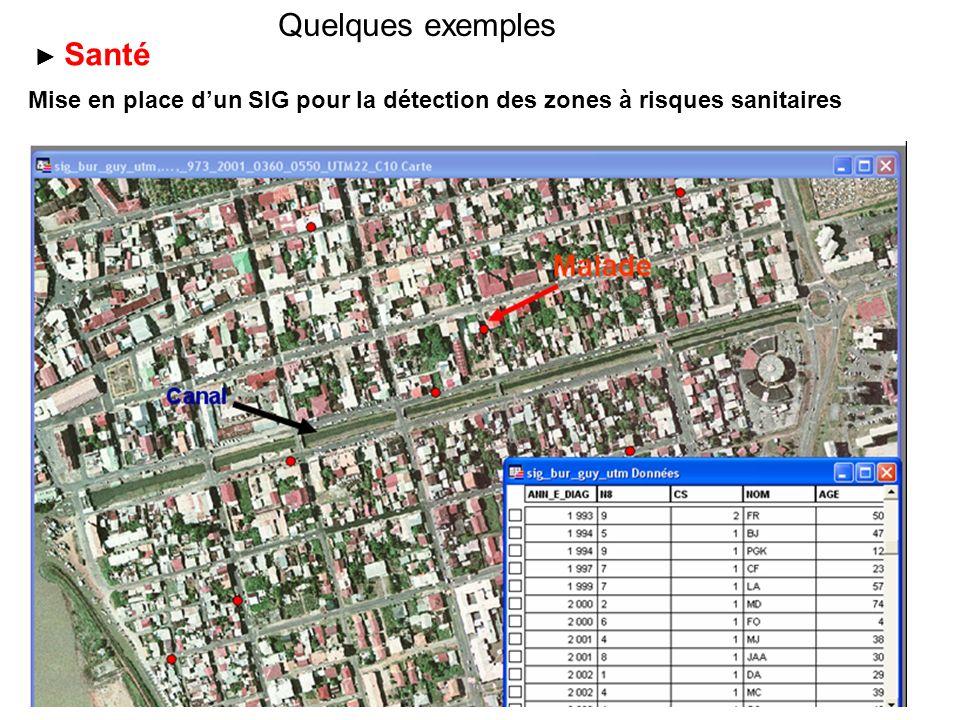 Utilisation dun SIG pour le suivi de la vulnérabilité des massifs forestiers Surveillance environnementale Risques de déforestation liés à la proximité dune agglomération