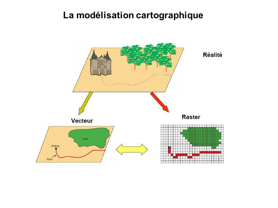 La modélisation cartographique