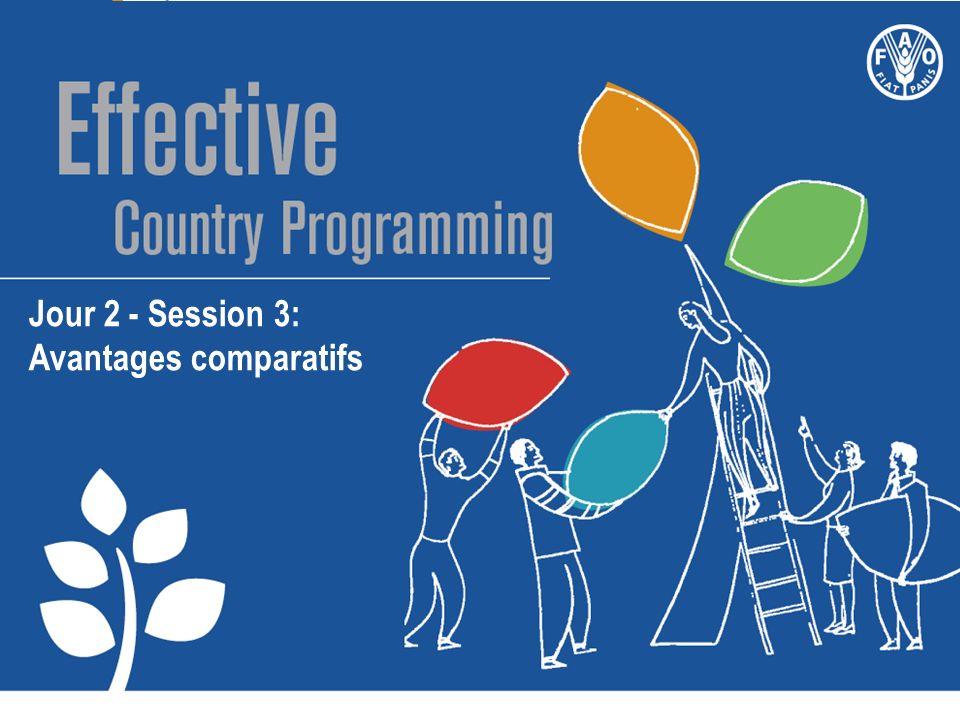 Jour 2 - Session 3: Avantages comparatifs