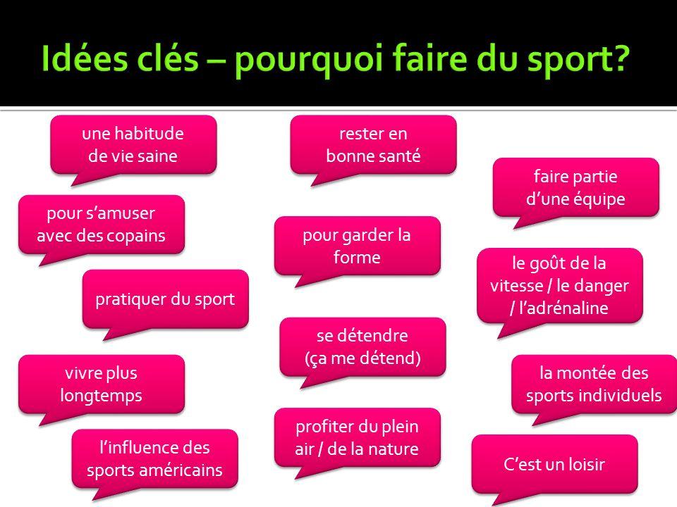 Tu as un sportif préféré?