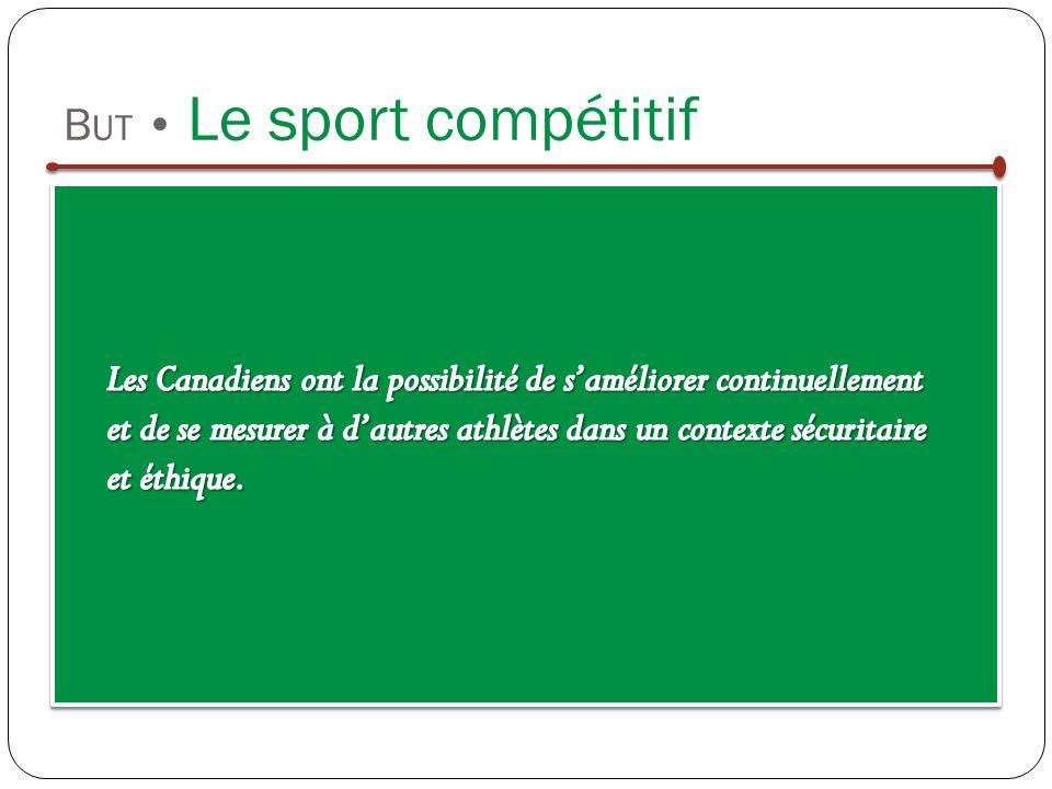 B UT Le sport compétitif