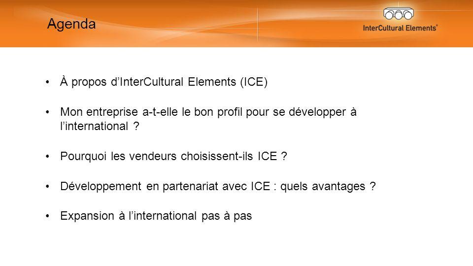 À propos dInterCultural Elements (ICE) Mon entreprise a-t-elle le bon profil pour se développer à linternational .