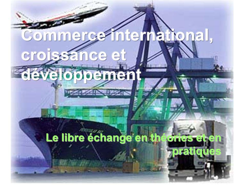 Le libre échange en théories et en pratiques