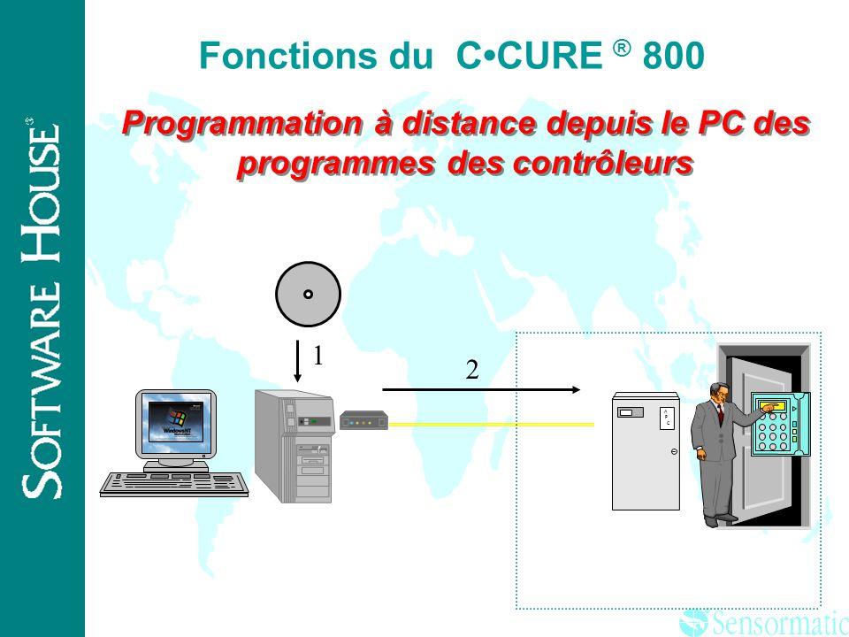 ® Intégration de la vidéo temps réelle +imagerie Fonctions du CCURE ® 800
