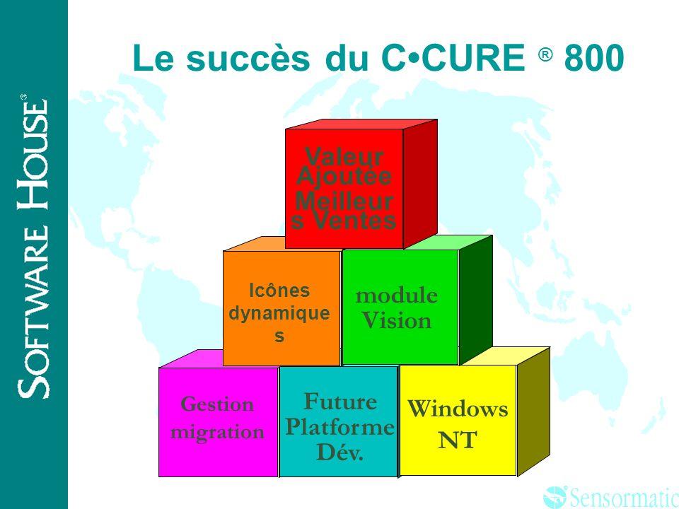 ® C·CURE ® 750 CCURE ® 800 Gestion migration C·CURE ® 800 Ajouter: PC Serveur Windows NT logiciel C·CURE ® 800 serveur Ajouter: C·CURE ® 800 Logiciel