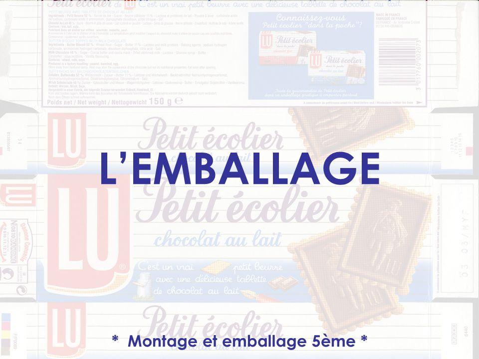 LEMBALLAGE * Montage et emballage 5ème *
