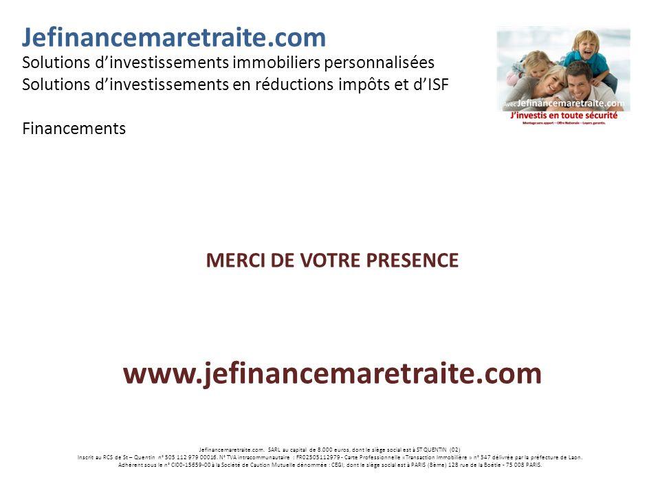 Jefinancemaretraite.com.