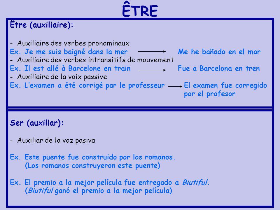 EXERCICES Traduis les phrases suivantes vers le français: 1.
