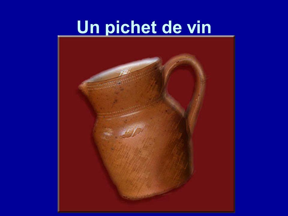 Un pichet de vin