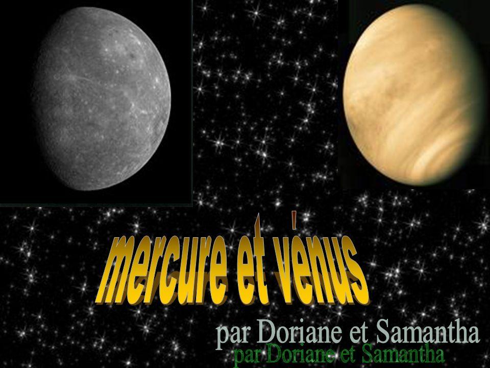 Mercure est à 46 millions km du Soleil.