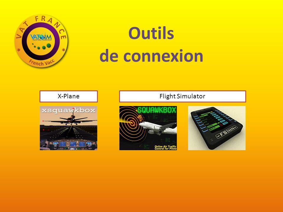Outils de connexion X-PlaneFlight Simulator