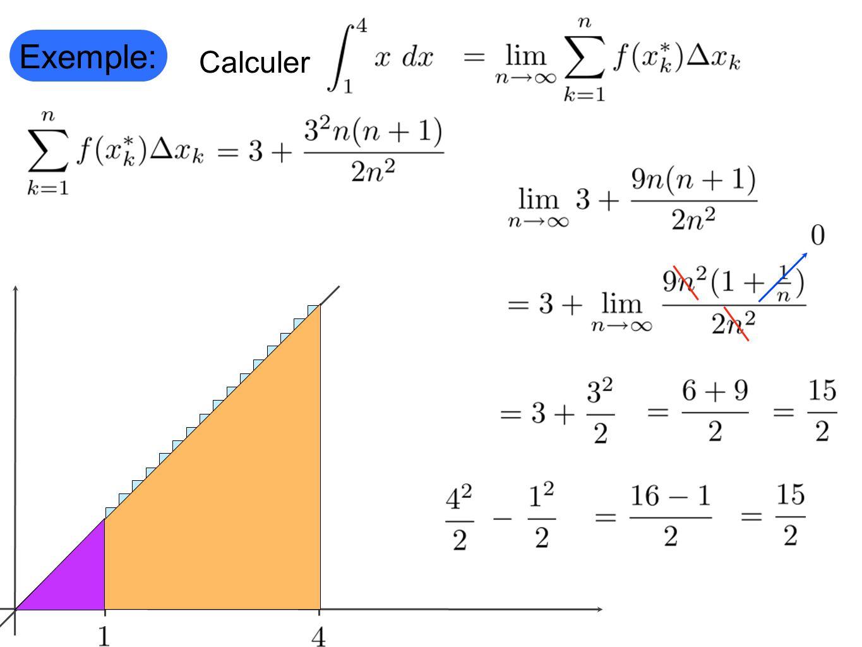 Exemple: Calculer