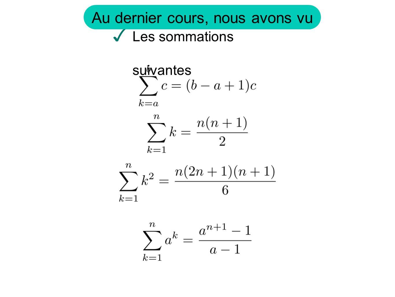 fois des bases.de hauteurs Somme Lapproximation de laire si on subdivise en n partie est Pour avoir une meilleur approximation il faut prendre un n plus grand.