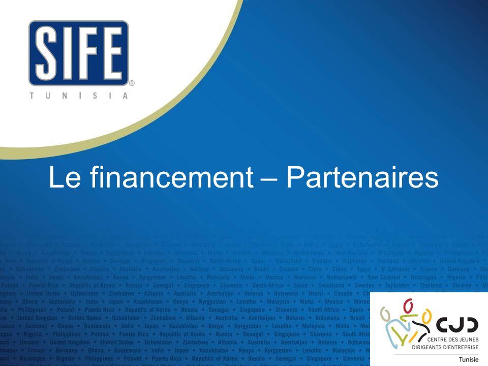 Le financement – Partenaires