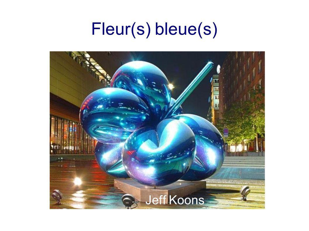 Fleur(s) bleue(s) Jeff Koons