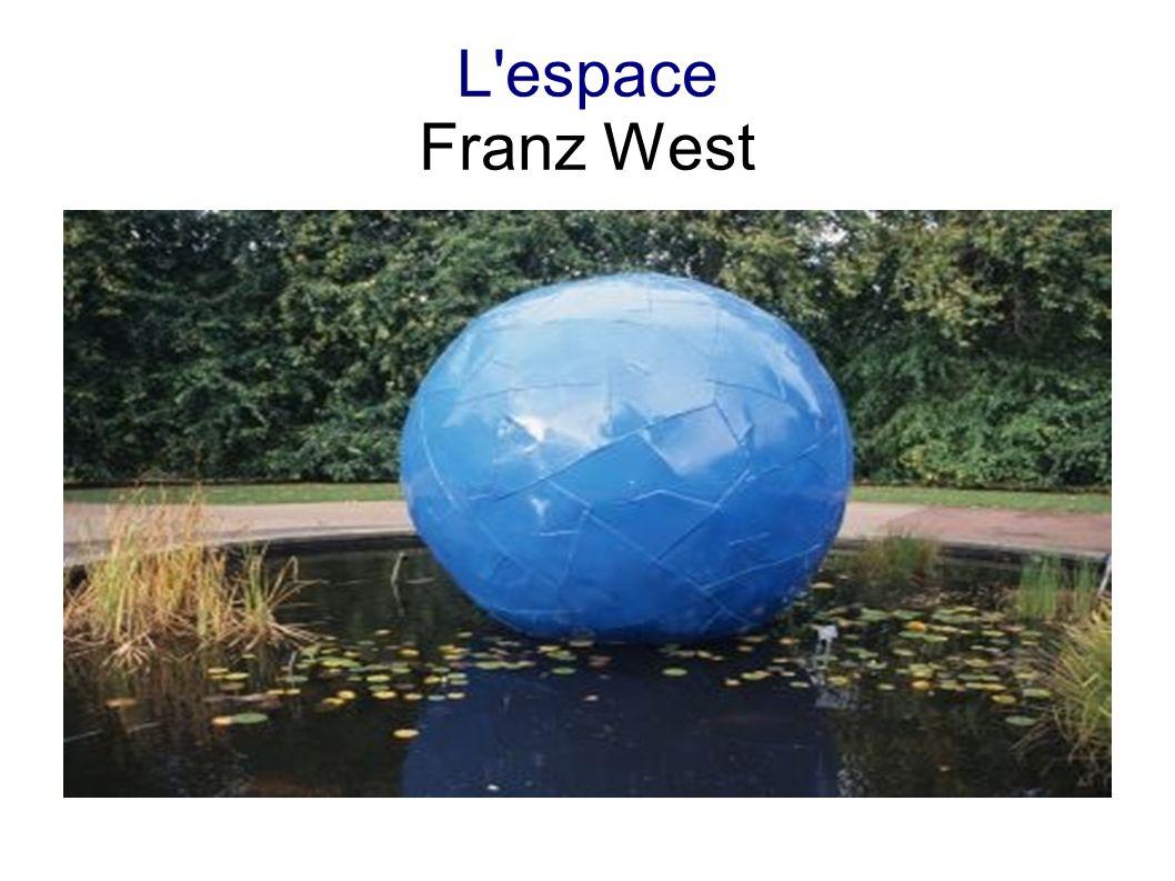 L'espace Franz West