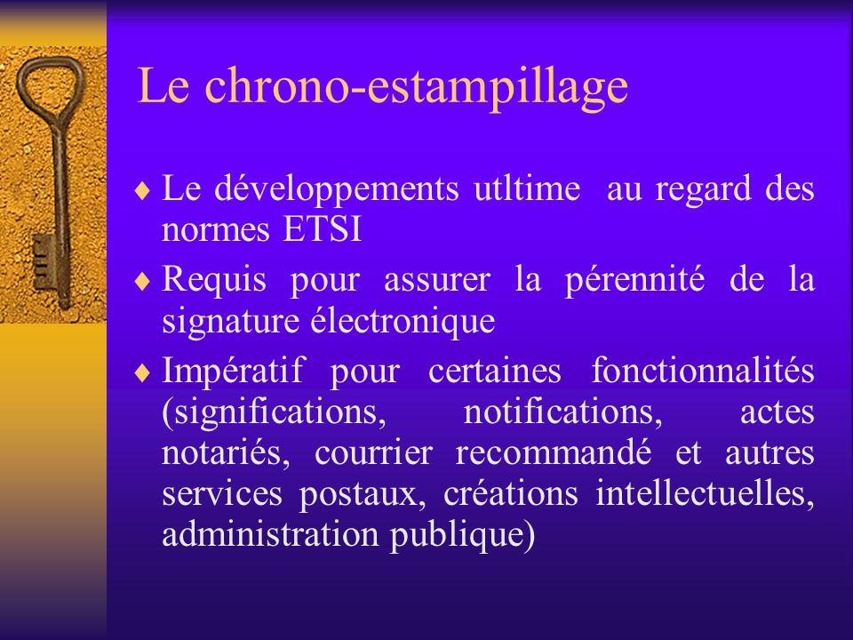 En synthèse La signature électronique simple –non dénuée deffet juridique La signature électronique (art. 1322, al.2) –en Belgique, reconnue comme sig