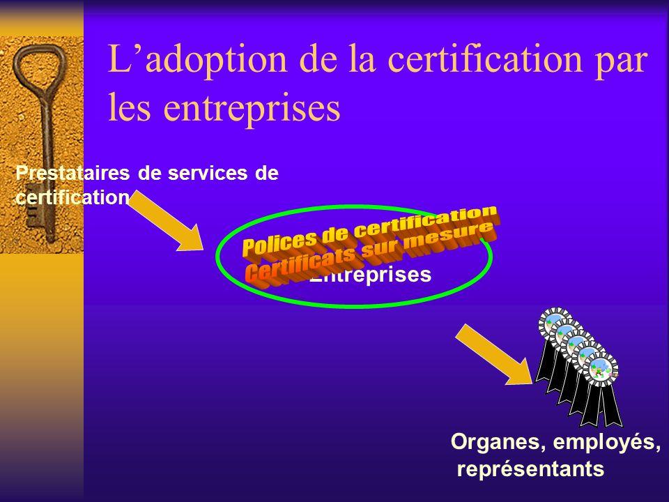 Pérennité des signatures électroniques Dépendance des outils de cryptage Les outils de cryptage deviennent de plus en plus faibles au fil du temps ave
