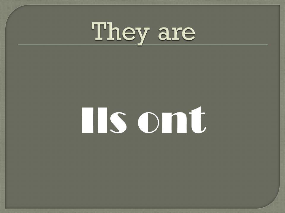 Ils ont