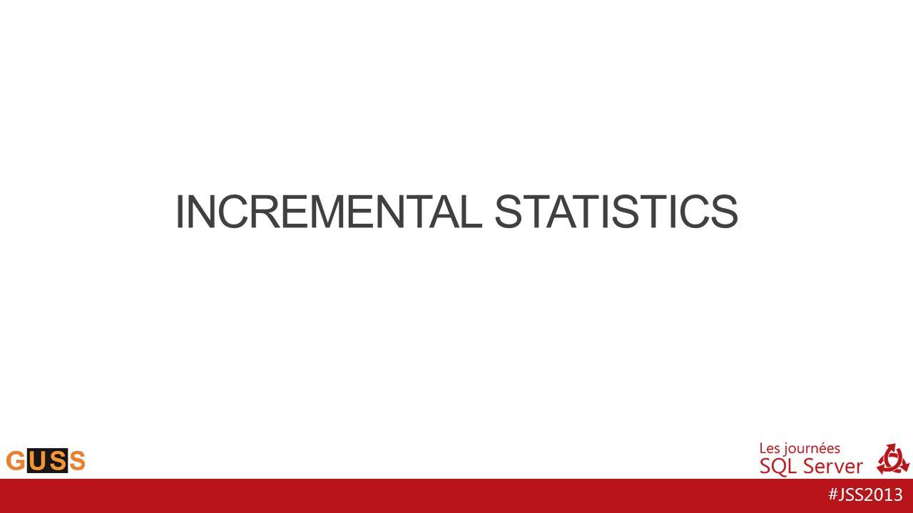#JSS2013 INCREMENTAL STATISTICS