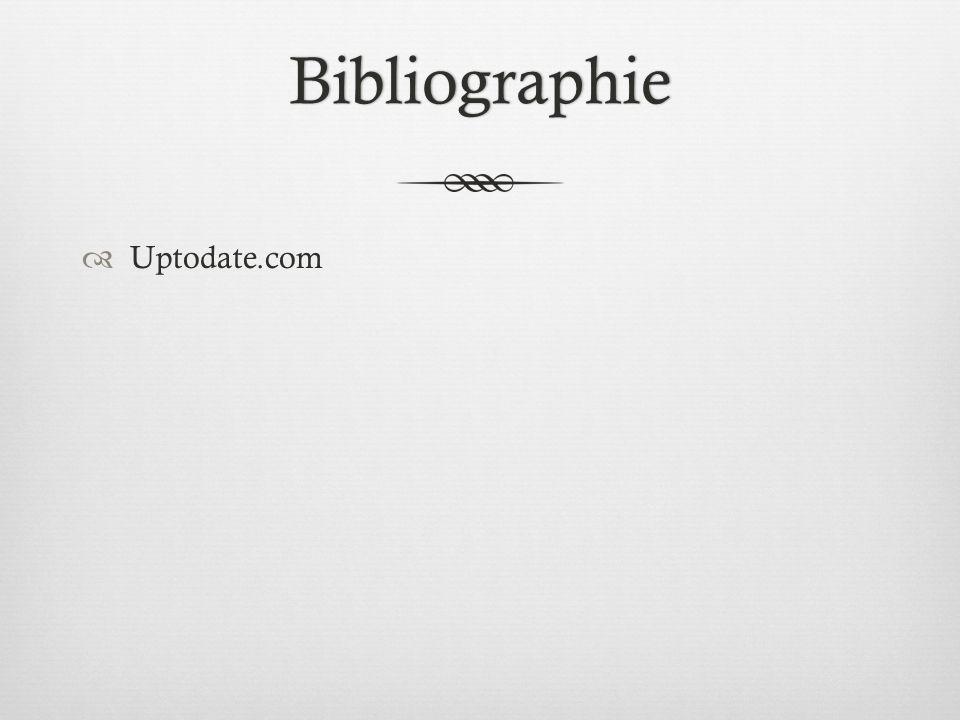 Bibliographie Uptodate.com