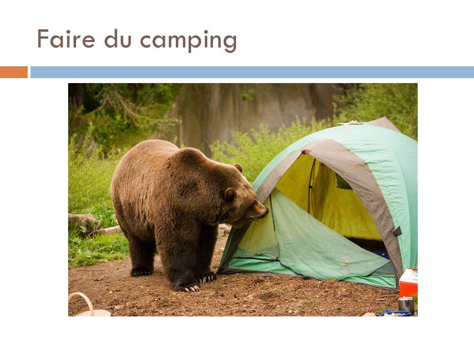 Faire du camping