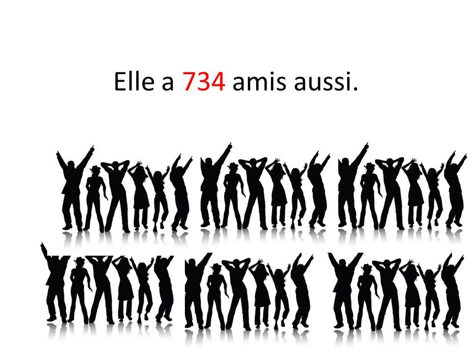 Il y a un très grand problème.Albert et Émilie ont les mêmes 734 amis.