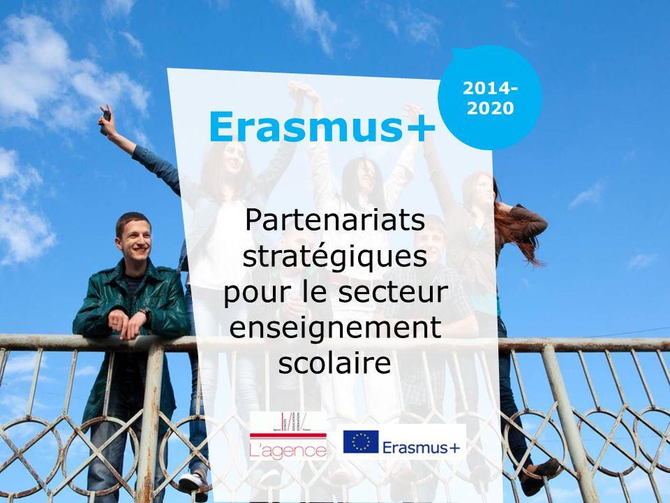 Erasmus+ Partenariats stratégiques pour le secteur enseignement scolaire