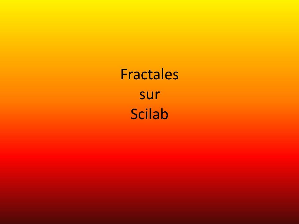 Fractales sur Scilab