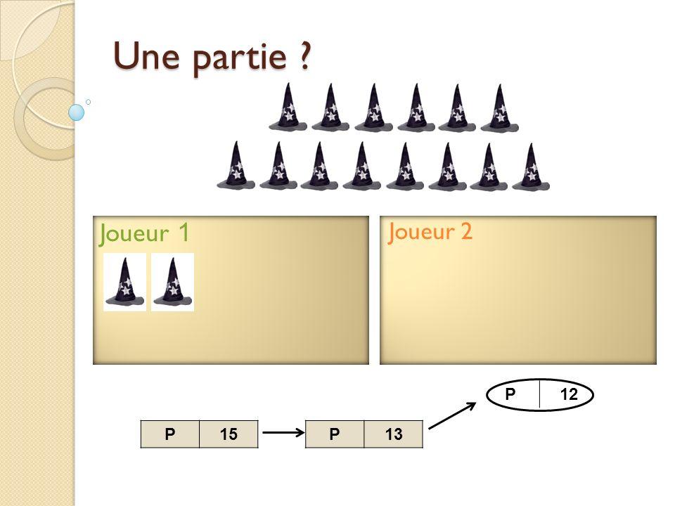 Joueur 2 Joueur 1 Une partie ? P13P15 P12 P11
