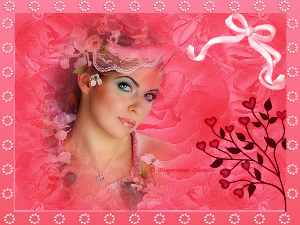 Jaimerais être une très jolie fleur Pour avoir le pouvoir de bercer les cœurs avec douceur.