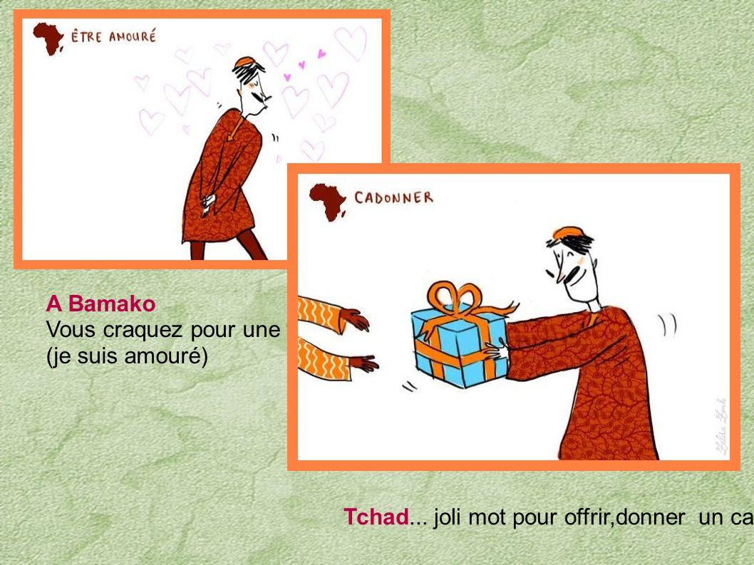 Cote d' Ivoire (pas question d aller... faut caimenter) aller bosser Afrique de l' Ouest, s' amuser, faire le fête ; mettre de l' ambiance ( ça va amb