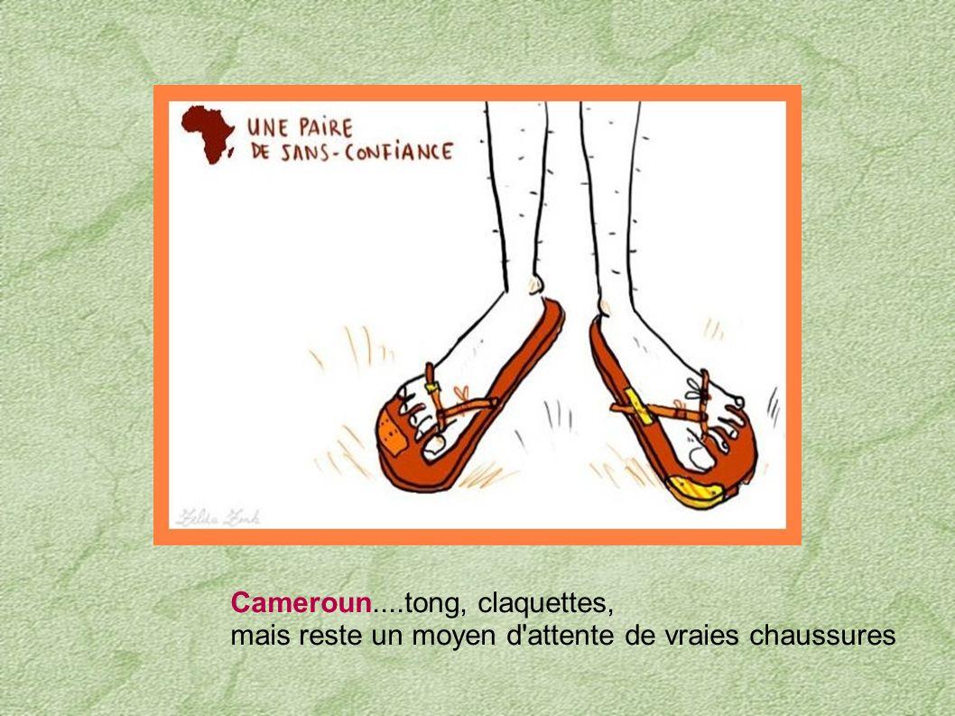 Congo....avancer comme un escargot Niger... très bavard