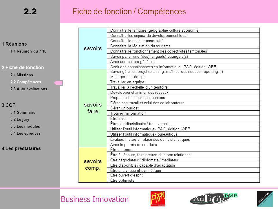 Business Innovation Les niveaux maximums exprimés dépassent largement la limite des niveaux senior : quelques agents ayant répondu doivent avoir beaucoup dexpérience dans le métier aujourdhui.