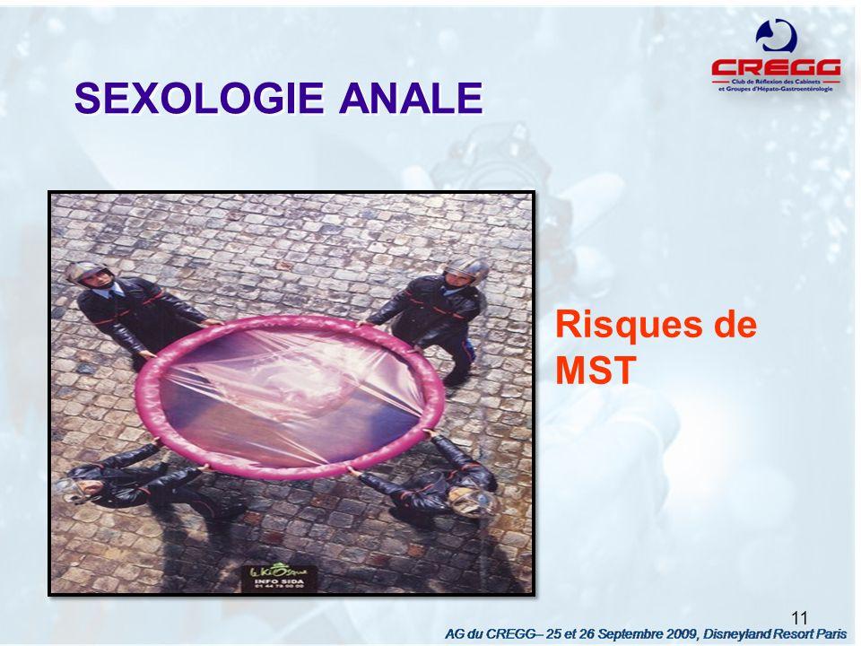 SEXOLOGIE ANALE 11 Risques de MST