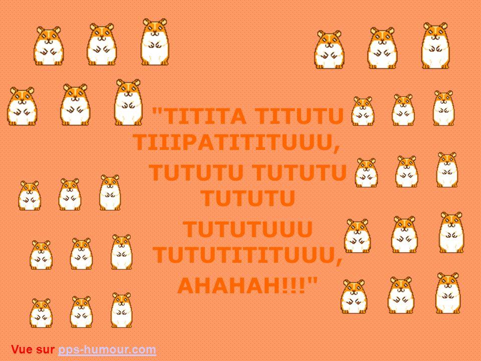 4) Chantes à tue-tête le refrain suivant sans interruption... Pendant 20 minutes Vue sur pps-humour.compps-humour.com