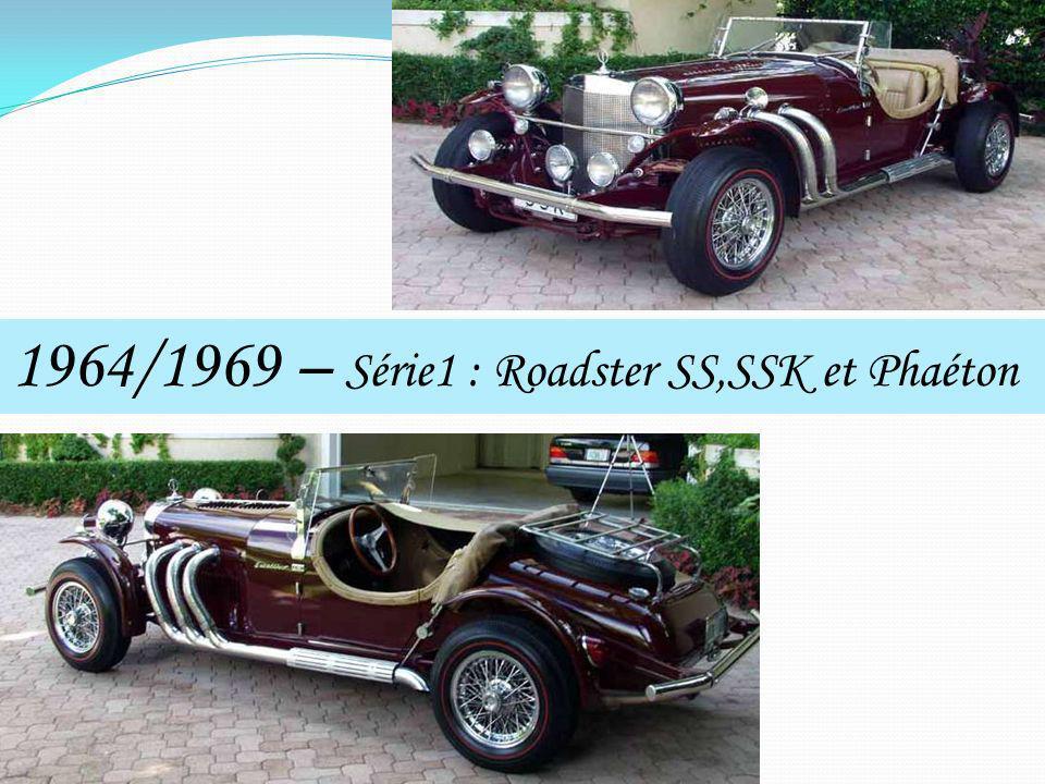 1964/1969 – Série1 : Roadster SS,SSK et Phaéton