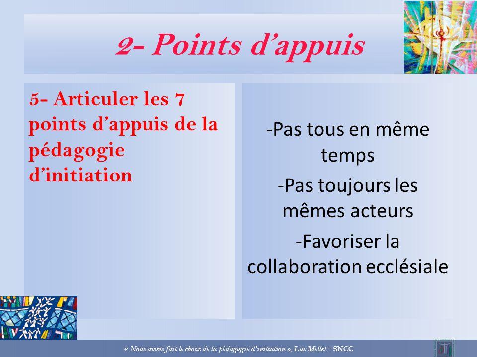 2- Points dappuis 4- Ouverture à la diversité culturelle -Par lintelligence de la raison -Par la diversité des langages, y compris multi média -Par la