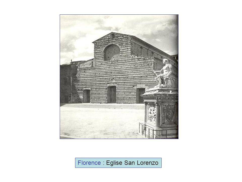 Florence : Eglise San Lorenzo
